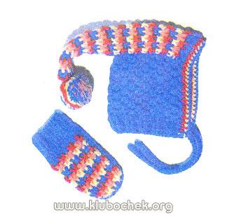 Ажурное вязание воротников на спицах
